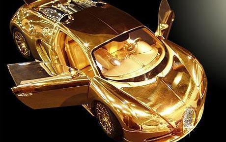 Bilen i 24-karats guld