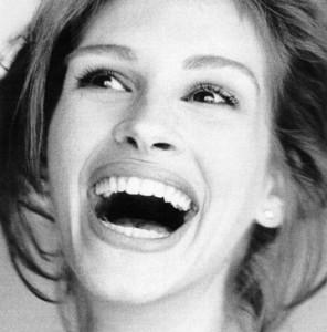Ett gott skratt förlänger även Julia Roberts liv